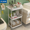 Good Capacity Home Kitchen Storage Holder Rolling Hand Cart