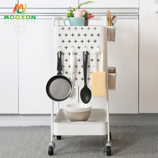 The Nordic Popular Home Tablet Storage And Charging Trolley Serving Tray
