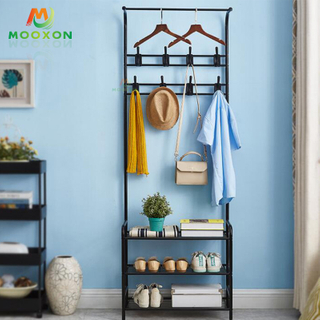 Home Furniture Multipurpose Balcony Or Living Room Storage Stand Clothes Dry Rack