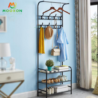 Contracted Bedroom Organizer Clothes Coat Rack Organizer Clothes Display Rack