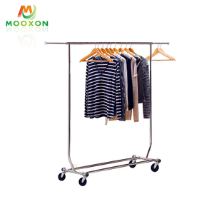Easy To Install Adjustable Bedroom Storage Shelf Drying Clothes Rack for Home