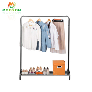 Hot Sale Free Standing Multipurpose Non-slip Balcony Storage Shelf Clothes Rack