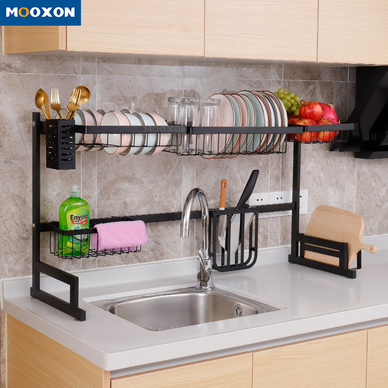 Commercial Stainless Steel Standing Type Storage Dish Plate Drying Rack