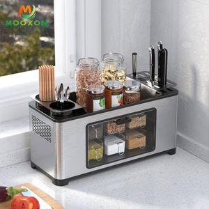 High-Quality Spice Organizer Racks for Countertop Seasoning Cutlery Storage