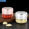 Removable Stainless Steel Garlics Press Kitchen Meat And Vegetable Mincing Machine Chopper