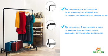 Multifunctional Clothes Drying Rack