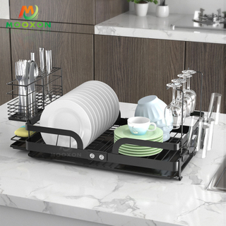 Multifunctional Kitchen Utensil Organizer Storage Stand Dish Bowl Rack