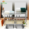 Extendable Adjustable Kitchen Plate Holder Dishes Drying Storage Shelf Dish Drainer